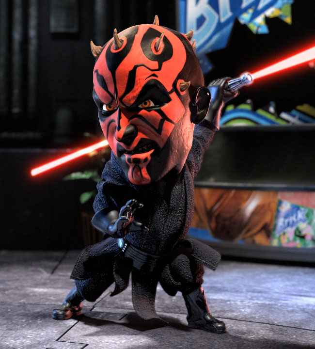 darth maul animated character