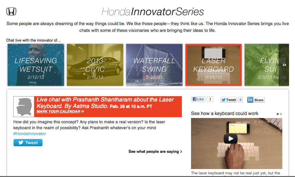 Honda-Innovator-Series