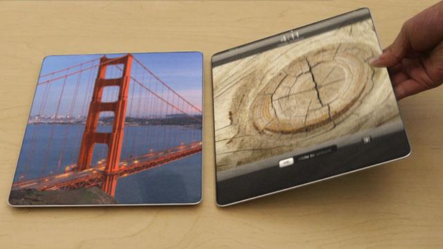 iPad concept aatma